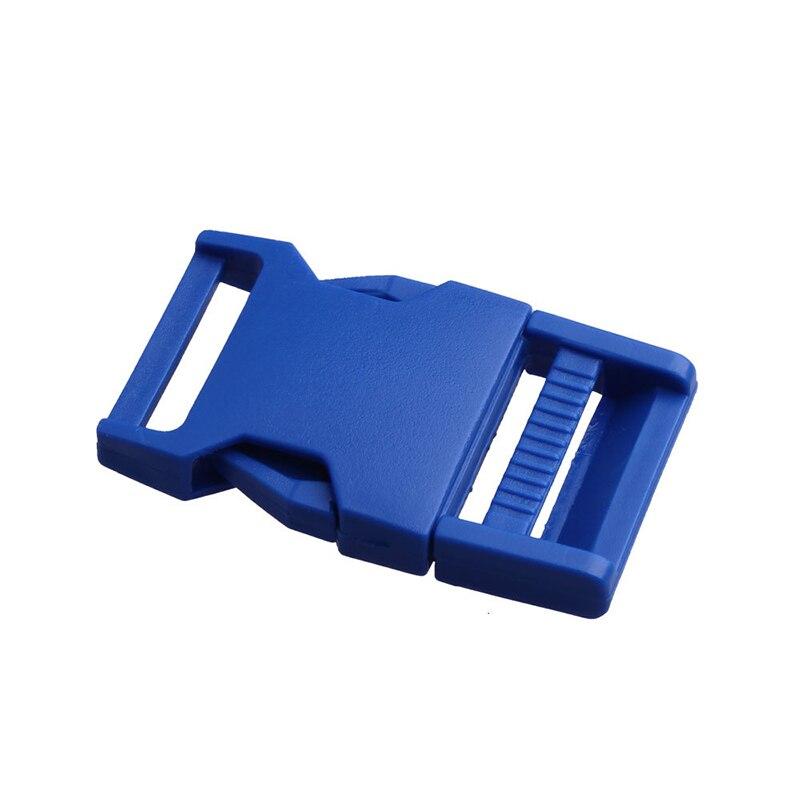Лямки швейные инструменты собачьи ремни пряжки двойные регулируемые Крючки для рюкзака Высокое качество 1 шт. 25 мм популярная пластиковая пряжка безопасности - Цвет: Electro