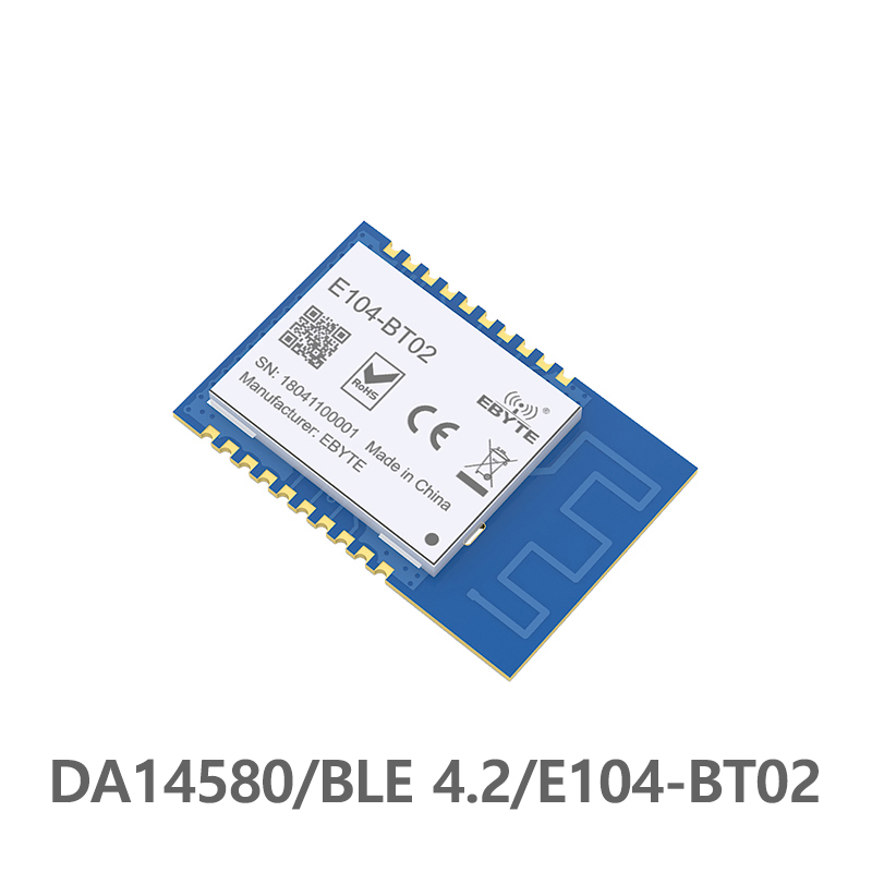 E104-BT02 SMD 2.4GHz DA14580 Bluetooth ble 4.2 rf Module Transceiver Wireless <font><b>Transmitter</b></font> Receiver <font><b>2.4</b></font> <font><b>ghz</b></font> Bluetooth Module image