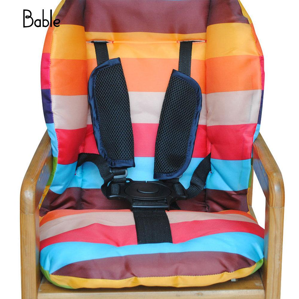 Baby Child Safety Belt Five-Point Fixed Seat Harness Belt Baby Stroller Accessories High Chair Car Seat Security Strap Children