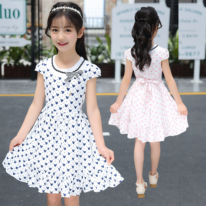 d100acad6 Toddler baby little girl ruffle dress korean fashion floral print soft dress  party sweet princess chic boutique kid clothing new
