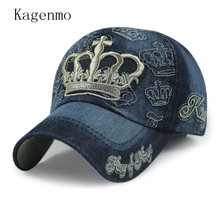 Kagenmo Classic crown exquisite embroidery russia style baseball cap spring hat 8color 1pcs brand new arrive