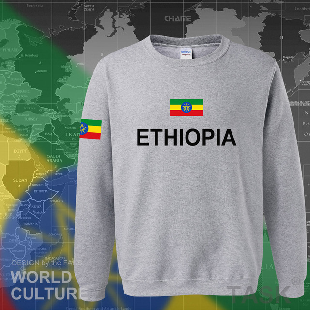 Ethiopia Ethiopian hoodies men sweatshirt sweat new hip hop streetwear clothing tops sporting tracksuit nation 2017 country ETH 5