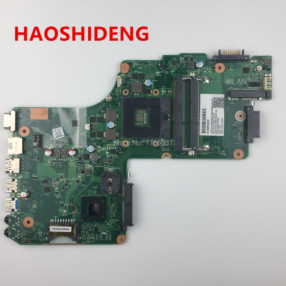 V000275560 for Toshiba Satellite C855 C855-S5123 series Laptop Motherboard(Green motherboard),All functions fully Tested! free shipping v000275410 for toshiba satellite c850 c855 intel laptop motherboard all functions fully tested