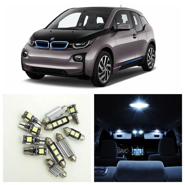 Aliexpress.com : Buy 13pcs White Canbus Error Free Car LED Light Bulbs Interior Package Kit For ...