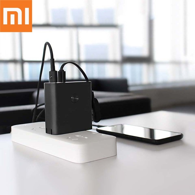 Original Xiaomi ZMI Power Bank wih Wall Charger 6500mAh Quick Charge 3.0 Two-Way Fast Charge 2-in-1 Portable Powerbank 3
