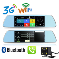New 7 Inch 3G GPS Dashboard DVR Android 5 0 WiFi Hotspot Bluetooth Phone Call Full