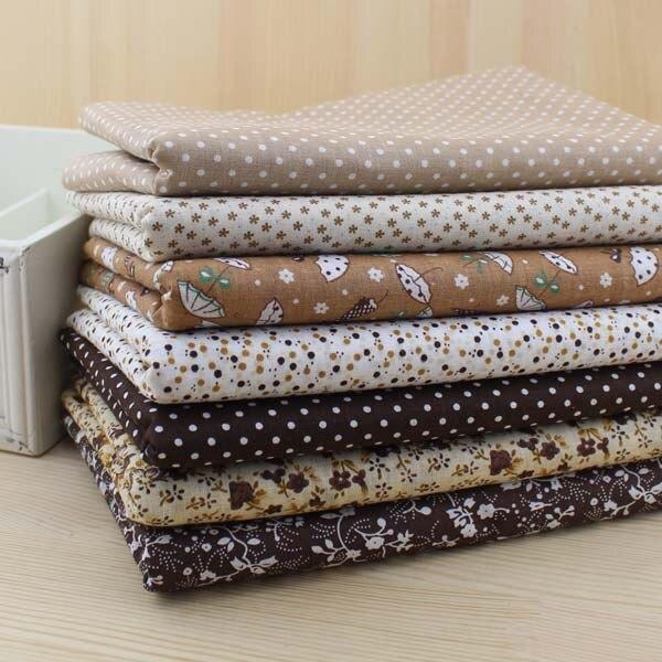 서적 무료 배송 10 대/몫 50 cm x 50 cm 코튼 패브릭 팻 쿼터 번들 퀼트 패치 워크 tilda 용 바느질 커튼-에서직물부터 홈 & 가든 의  그룹 2
