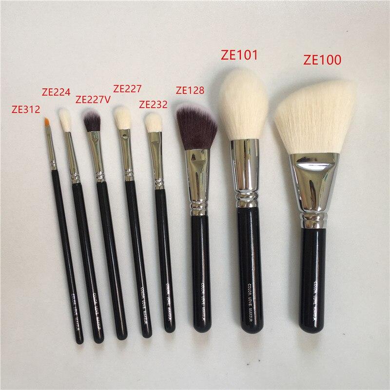 ZE 100 роскошная отделка лица 101 Definer 128 Cream Cheek 232 тени для век 227/227 в тени для век 224 Crease 312 подводки кисти для макияжа