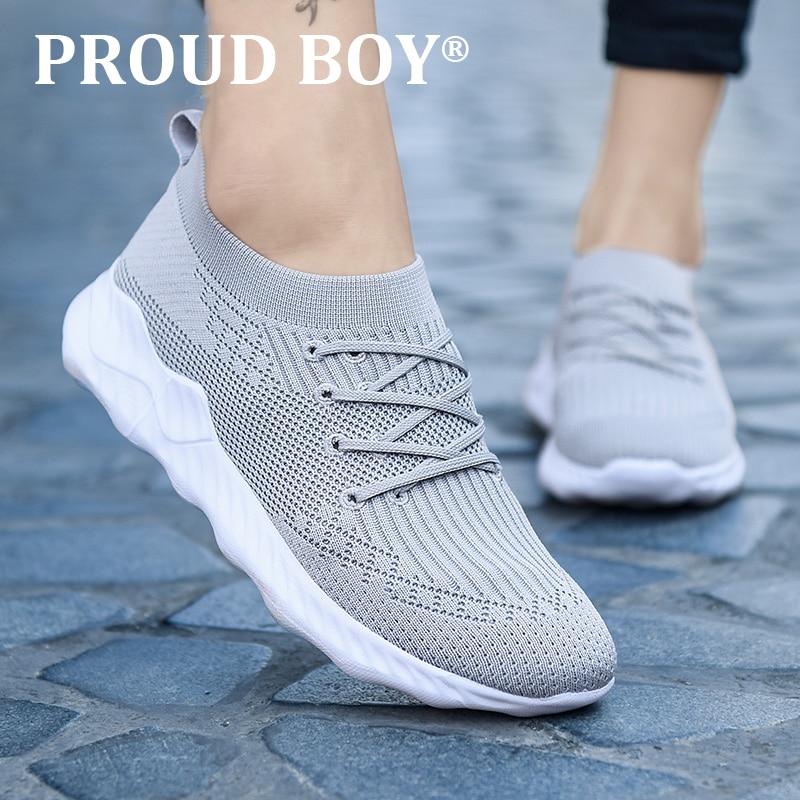 new design running shoes for women slip on Comfortable Mesh men Sport shoes Outdoor Walking Jogging