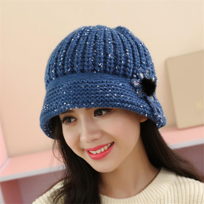Mooistar #3001 Fashion Women Lady Winter Warm Crochet Knitted Hat
