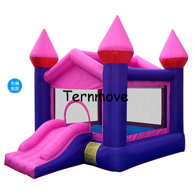 inflatable Bounce House Slide with Blower Indoor Outdoor Moonwalk Inflatable Bouncer Made of Nylon Jump 'n Slide Bouncer inflatable water slide bouncer inflatable moonwalk inflatable slide water slide moonwalk moon bounce inflatable water park