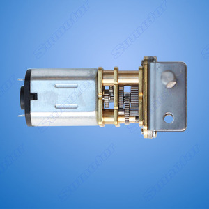 Image 5 - GW12GA 2 80rpm DC 6V 12V smallest Worm gear motor Low speed mini gear box Reversible Electric engine for Smart car Robot Lock