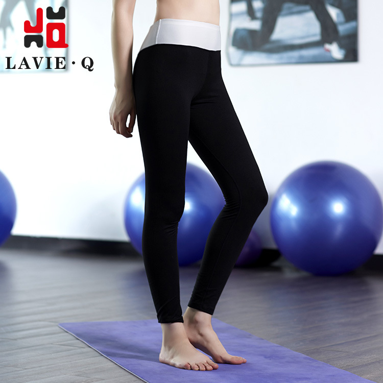 Stretch leggings yoga pants quick-drying movement Absorb sweat breathe freely cultivate ones morality show thin Running fitness