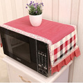 Microwave oven cover with 2 pouch Dust Covers dustproof  cotton cloth cover support drop ship romantic style microwave oven set