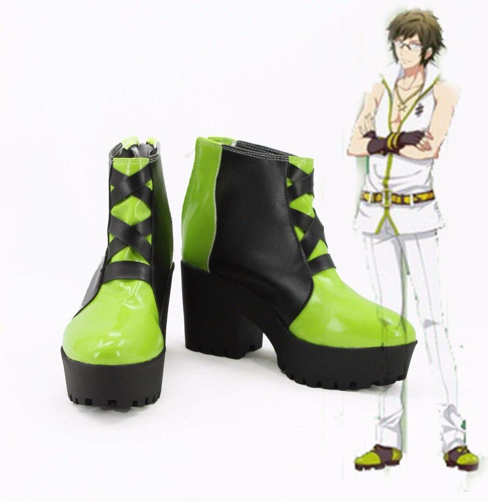 Idolish7/Маскарадная обувь Yamato Nikaido, ботинки аниме, сапоги, изготовленные под заказ