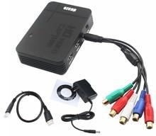 НОВЫЕ HD Game video capture Box 1080 P HDMI YPBPR Записи для Xbox 360 Один Живой/PS3 PS4 ТВ Видео Записи, может Микрофон, USB Диск