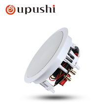 Oupushi home theatre system hifi ceiling speakers 6.5 inch surround sound roof speakers with wifi bluetooth amplifier