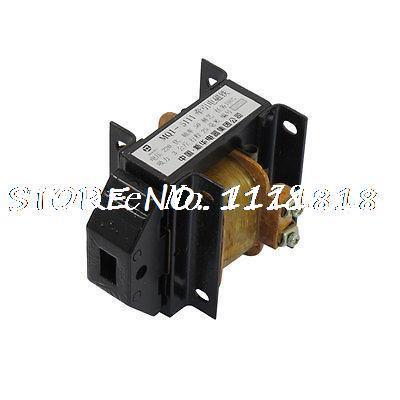 220V MQ8-4001 25mm Stroke Force AC Tractive Magnet Solenoid Electromagnet
