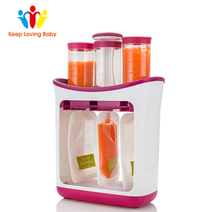 Image 3 - Dropshipping Baby Food Maker Squeeze Food Station Organic Food For Newborn Fresh Fruit Container Storage Baby Feeding Maker