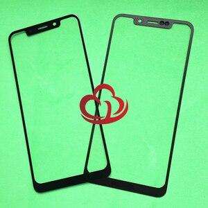 Image 1 - 10 adet/grup Yedek LCD Ön Dokunmatik Ekran Cam Dış Lens Motorola Moto Bir P30 Oyun XT1941