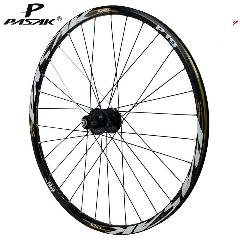 Mtb 26 29 27.5er 32Holes Disc Brake Mountain Bike Rear Wheels Six Holes Centerlock MTB Bicycle Rear Wheels 4 Sealed Bearings