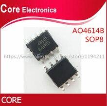 50 pçs/lote AO4614B AO4614 4614 SOP8 IC melhor qualidade