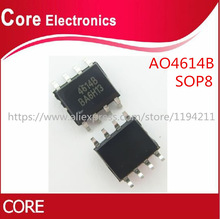 50pcs/lot AO4614B AO4614 4614 SOP8 IC best quality