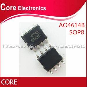 Image 1 - 50pcs/lot AO4614B AO4614 4614 SOP8 IC best quality