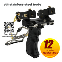 Slingshot high precision outdoor infrared slingshot laser re bow air step beating special gun bird