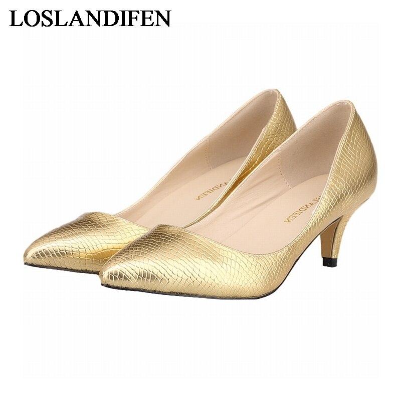 2018 New Arrival Crocodile Grain Women Pumps Brand Shoes Sexy Pointed Toe High Heels Design Wedding NLK-C0023