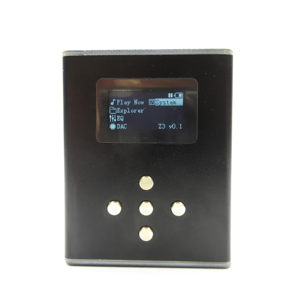 Новый DIY zishan Z3 0.96 дюймов OLED Lossless музыки MP3 HiFi плеера ЦАП ak4490 Поддержка Усилители для наушников DSD жесткий решение