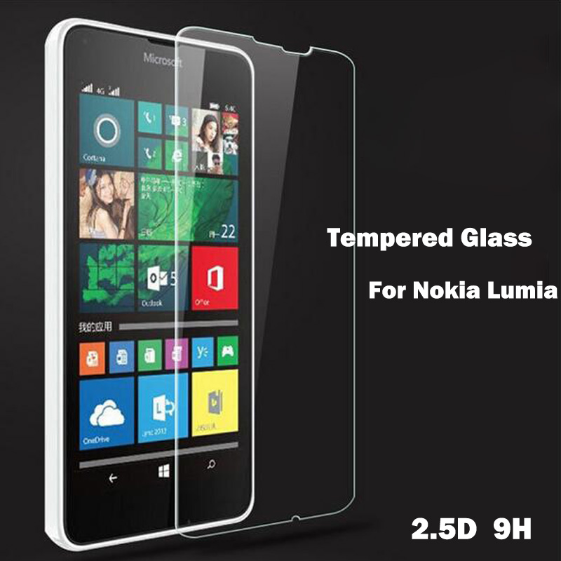 Tempered Glass For Nokia Lumia 630 635 640 650 730 735 550 9s