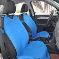 АВТОКОРОНА Автомобильные чехлы майки на передние сиденья 2 шт универсальный размер 4 цветов черный красный синий серый Ткань - велюр
