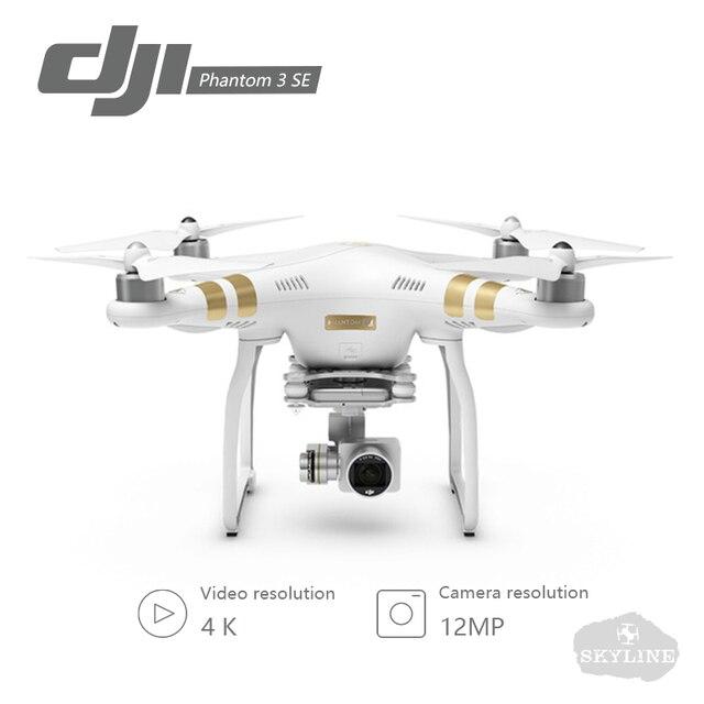 DJI Phantom 3 SE Drone 4 К HD видео Запись Дроны с Камера 4 К Drone Phantom Дистанционное управление приложение Управление лер 25 мин. время полета