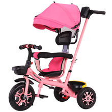 0-6Y Multi-function Baby Rotating Seat Trike Baby Stroller Tricycle Bicycle Children Can Ride Bicycle Toddler Push Tricycle 7 18 months baby walker anti rollover multi function with music baby push can sit can stand children walker adjustment wheel