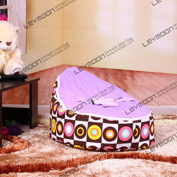 FREE SHIPPING baby bean bag with 2pcs purple up cover baby beanbag bean bag seats baby chair baby seat bean bag covers only baby bean bag cover with 2pcs black up covers baby bean bags baby bean bag chair baby bean bag bed beanbag seat free shipping