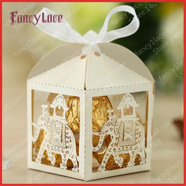 Hot Sale Laser Cutting Indian Style Wedding Gift Boxes Customized