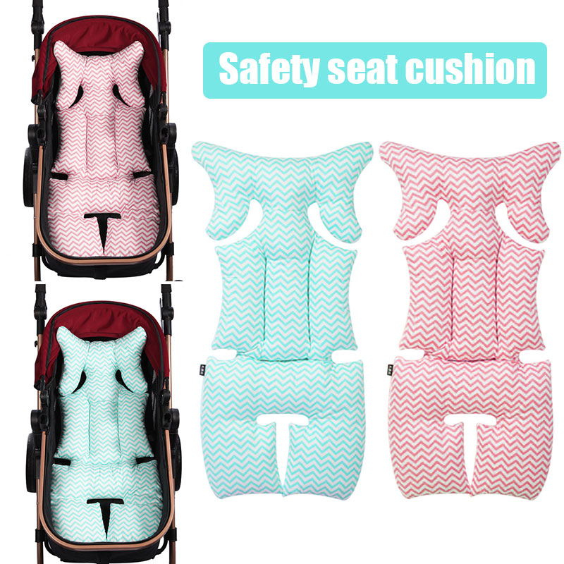 Vehemo синий розовый хлопок детское автокресло подушки Подушка безопасности Путешествия Прочный Крытый Поддержка подушка для детского сиденья