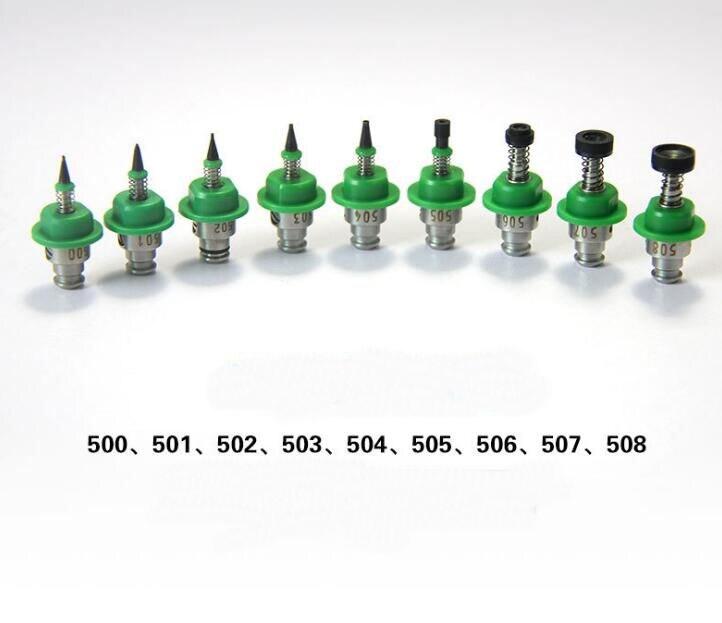 9pcs lot 500 501 502 503 504 505 506 507 508 SMT spare part Machine Nozzle