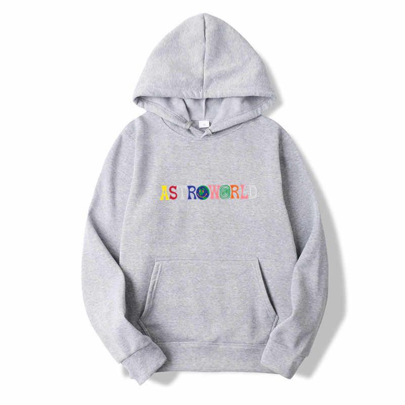 d0179392e6c7 ... 2019NEW Men hoodies Travis Scott Astroworld WISH YOU WERE HERE  Sweatshirt Men fashion letter print Hoodie ...