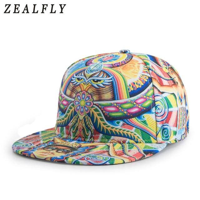 46f8f103c0f Cool 3D Printing Planas Hip Hop Snapback Swag Strange Men Baseball Cap 2018  Hot Fashion Caps