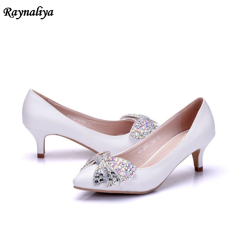 XYD Women Sequins Ankle Boots Pointed Toe Mid Heel Zip Up Evening Party Dress Shoes with Rhinestone Buckle