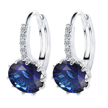 Luxury Ear Stud Cubic Zirconia Earrings For Women