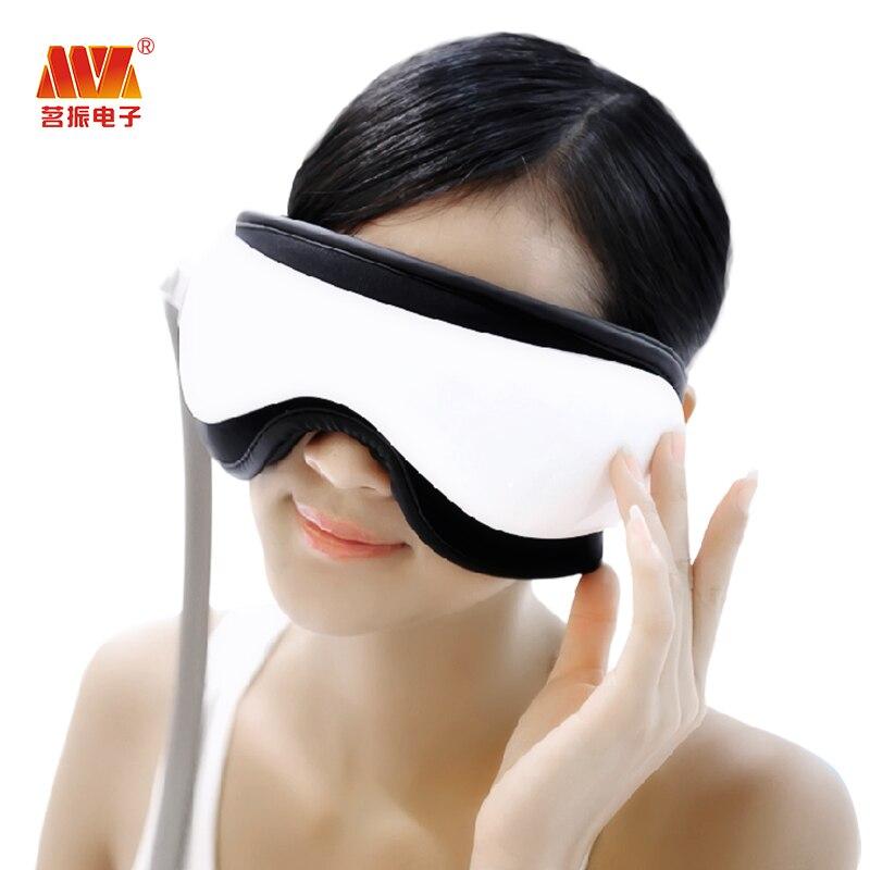 MZ Electric Air Pressure Eye massager Vibration Magnetic heating therapy massage myopia eye mask care device axation tonomet eye massager massage device eye mask essence absorber