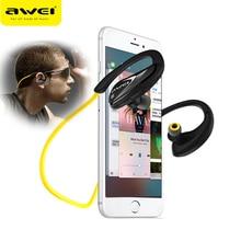 AWEI A880BLกีฬาหูฟังไร้สายบลูทูธชุดหูฟังสำหรับXiaomi Sony iPhoneหูฟังพร้อมไมโครโฟนวิ่งหูฟัง
