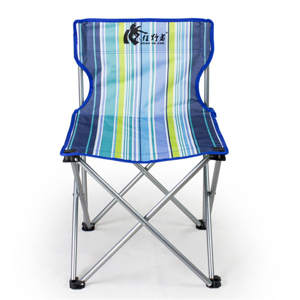 цена на Vogue Portable Detachable Aluminium Alloy Camping Extended Chair Folding Fishing BBQ Beach Garden Chair For Outdoor Activities