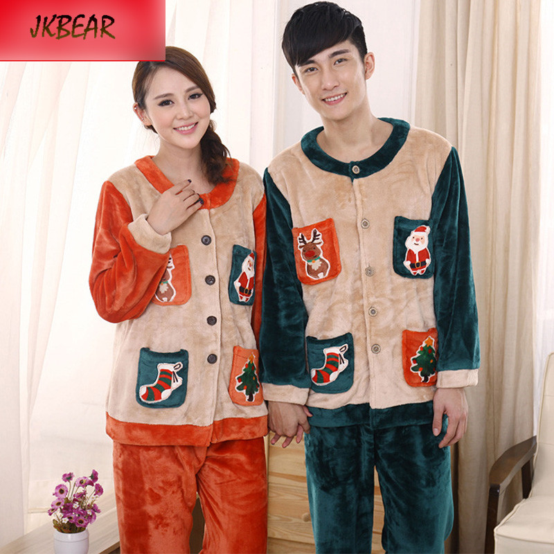 Aliexpress.com : Buy Lovely Matching Christmas PJS for Couples ...