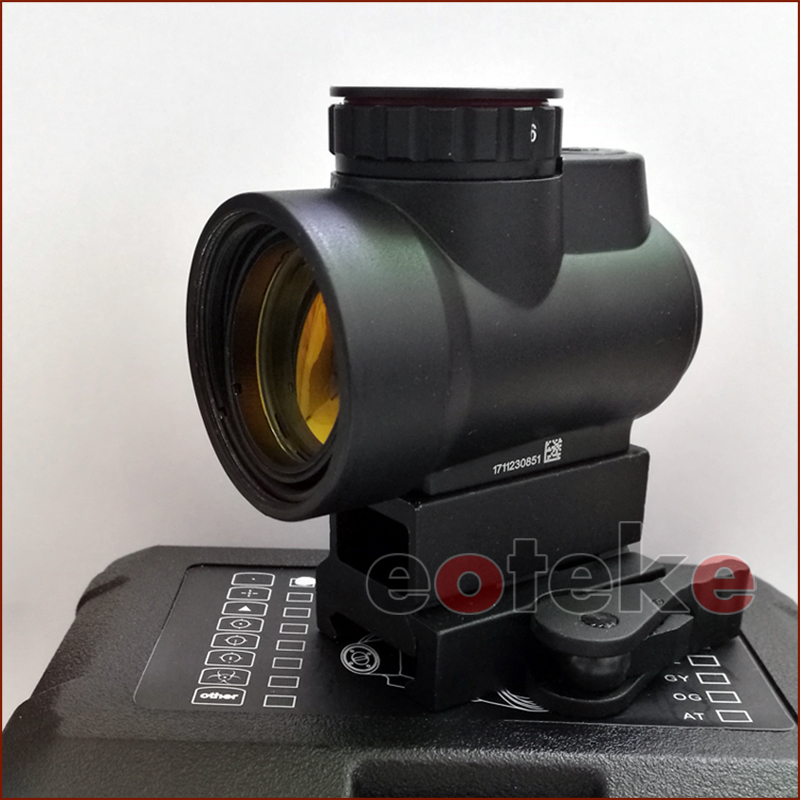 new Trijicon MRO Style Holographic Red Dot Sight Optic Scope Tactical Gear airsoft With 20mm Scope