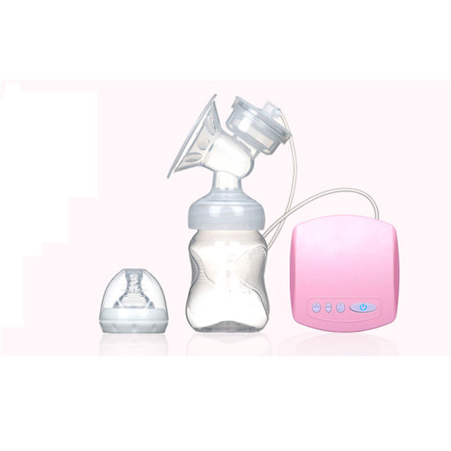 2016 Electric Breast Pumps Breast Feeding Automatic Milking Postpartum Mothers Products Women Feeding Manual Breast Pump Pink
