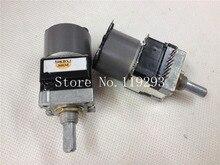 [BELLA]Original Japanese ALPS RK16812MG04YM motor double potentiometer B50KX2–5PCS/LOT